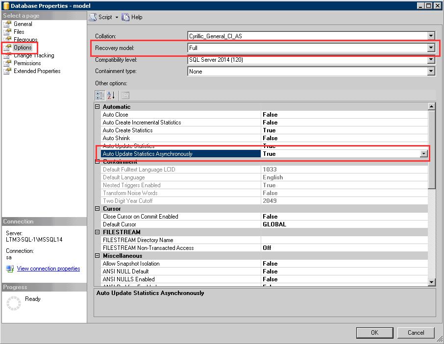 Установка и настройка сервера 1С в СУБД MS SQL Server