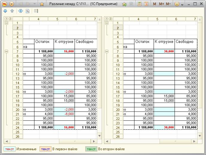 Выгрузка в Excel в 1С — сохранение номенклатуры